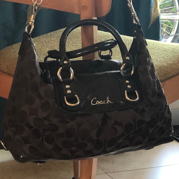 Coach Handbags - Chocolate Coach Satchel, Medium